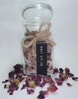 Dodatek do zestawu, kwiatowa sól do kąpieli  (1)