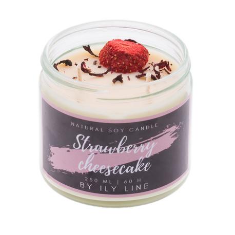 Świeca sojowa Strawberry cheesecake (1)