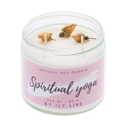 Świeca sojowa Spiritual yoga (1)