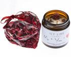 Walentynkowy zestaw ze świecą 120 ml - różne rodzaje